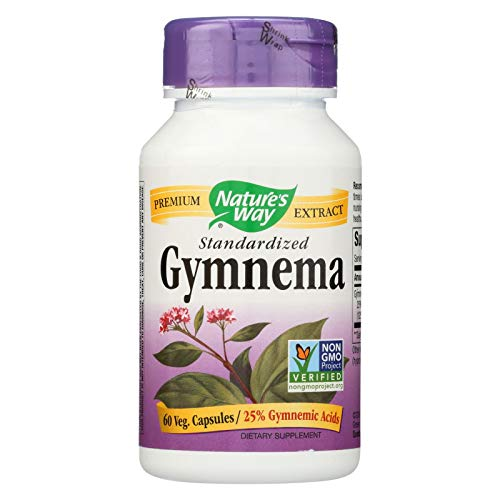 Natures Way Gymnema Standardized 60 Vegetarian capsule, 60 ct ()