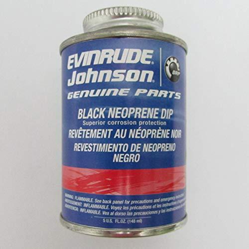 Johnson Evinrude BRP Black Neoprene Dip 0909570 ()