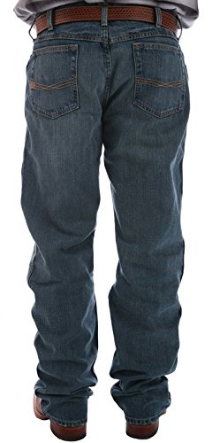 Mens Loose Blue Jeans - 8