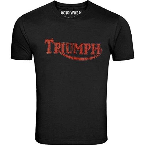 Triumph TRUIMPH Motorcycles Logo Mens Black T-Shirt