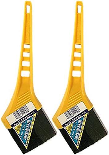 黄柄油性ハケ 70mm巾 2本セット 通常便