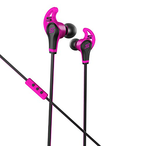 SMS Audio SMS-EB-SPRT-PNK STREET by 50 In-Ear Wired Sport- Pink