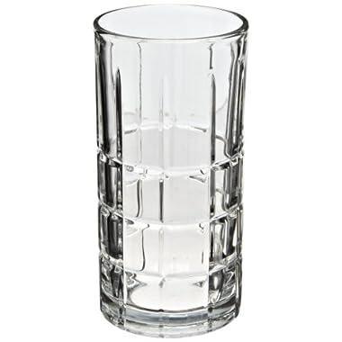 Anchor Hocking 68347 3-1/8 Inch Diameter x 6 Inch Height, 16-Ounce Tartan Iced Tea Glas (Case of 12)