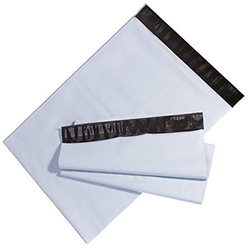 BESTEASY Poly Mailers Shipping Envelopes Bags, 10 x 13-inch, 100 Bags, White Photo #4
