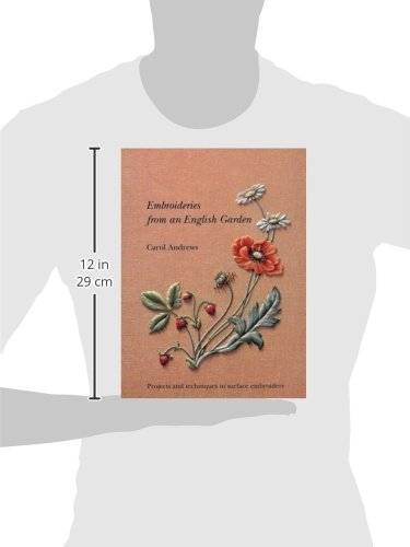 Embroideries from an English Garden: Projects and Techniques in Surface Embroideries by imusti (Image #1)