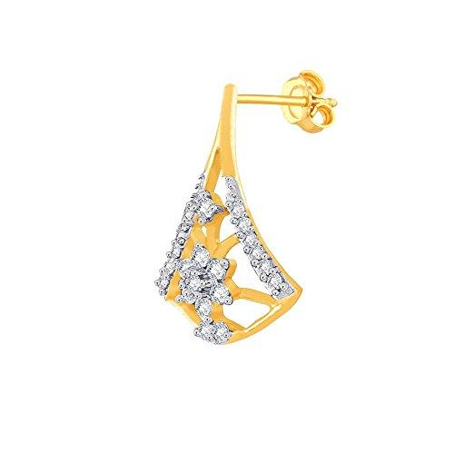 Giantti Diamant Pendentif Femme Collier (0.292CT, qualité HSI, Gh-colour)
