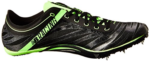 New Balance Menns Sd400v3 Piggsko Shoe Black / Lime