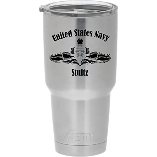 Rambler Engraved Surface Warfare Colster product image
