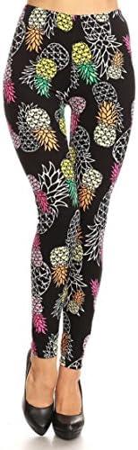 Leggings Mania Women's Printed High Waist Ultra Soft Stretchy Always Leggings - Many Patterns