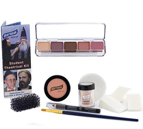 Student Theatrical Makeup Kit - Medium/Olive - -