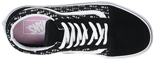 Vans Women's Ua Old Skool Low-Top Sneakers Black (Sayings Black) newest H3Y5r