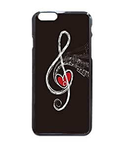 """Musical Notes Pattern Image Protective iphone 6 (4.7"""") Case Cover Hard Plastic Case For iPhone 6 - 4.7 Inches"""
