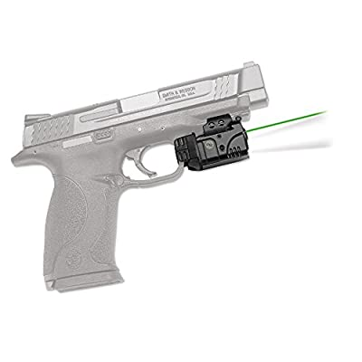 Crimson Trace CMR-204-S Rail Master, Universal Rail Mount Green Laser/LED, Hanging Box Package from Crimson Trace