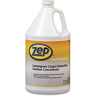 Zep Professional Carpet Extraction Cleaner, Lemongrass, 1 Gal Bottle - Includes four per case.