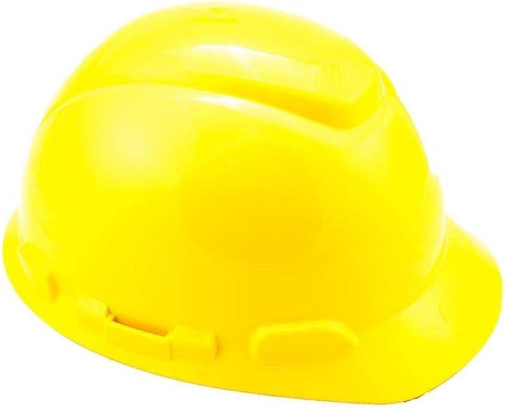 3M H701NGU - H701 Casco sin ventilación, amarillo, arnés de ruleta ...