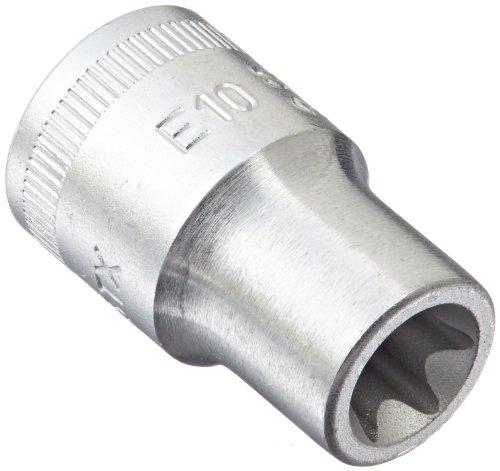 Stahlwille 45TX-E10 Steel External Torx Screw Socket, 3/8