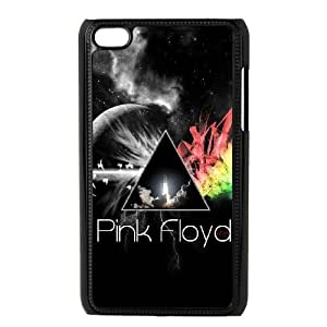 iPod Touch 4 Case Black Pink Floyd KVR Hard Phone Cases