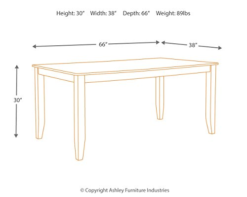 home, kitchen, furniture, kitchen, dining room furniture,  tables 3 discount Signature Design By Ashley - Dresbar Dining Room Table promotion