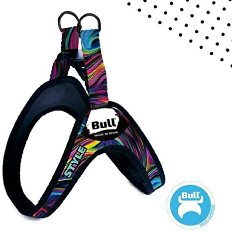 Bull Arnés para Perros Sport Style (T-S1 (Cuello Aprox 20 CM ...
