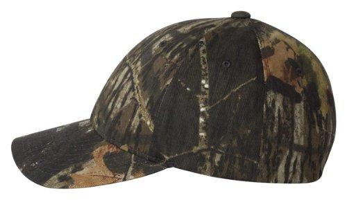 Flexfit Mossy Oak Camouflage Cap, Mossy S/M ()