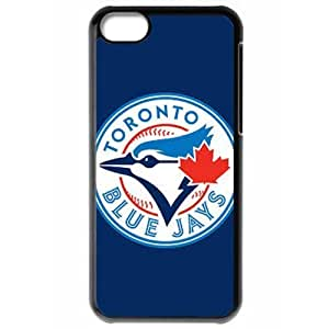 MLB Iphone 5C Black Toronto Blue Jays cell phone cases&Gift Holiday&Christmas Gifts NBGH6C9126662