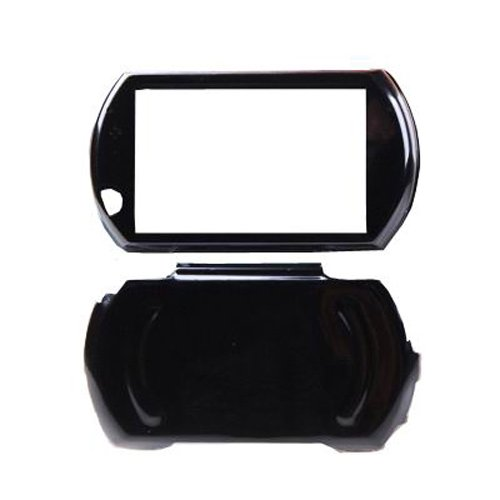 - OSTENT Protector Aluminum Travel Carry Hard Shell Case Cover Skin Pouch Compatible for Sony PSP GO Color Black