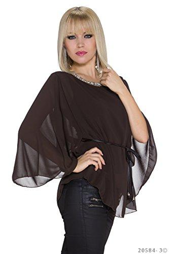 Candy Moda - Camisas - para mujer marrón oscuro