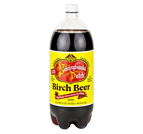 PA Dutch Birch Beer, Protected With High-Density Foam, Favorite Amish Drink, 2 Liter Bottle (Pack of ()