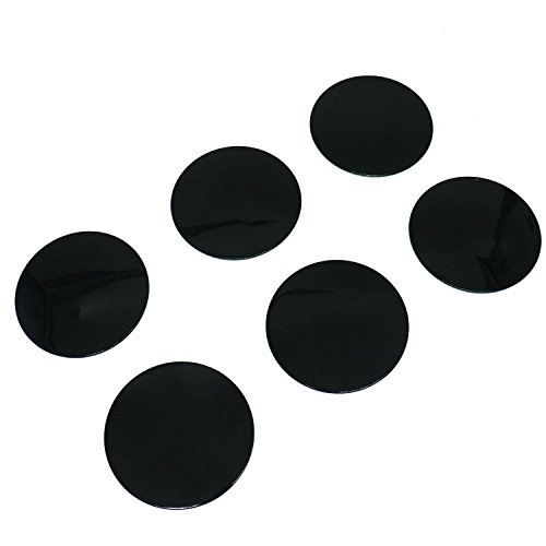 IDS Pack of 6 3M PE Foam Tape Car Dash Dashboard Adhesive Sticky Suction Cup Mount Disc Disk Pad for GPS Phone Tablet PC Car DVR MP4 E-book ()