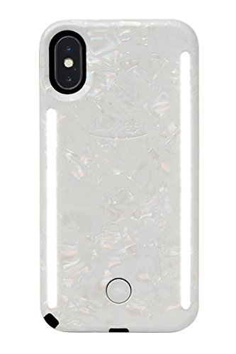 best sneakers 31d09 b4b4d LuMee LDIPX18EIW0 Duo X LED Case for iPhone X - Mirage Jewel