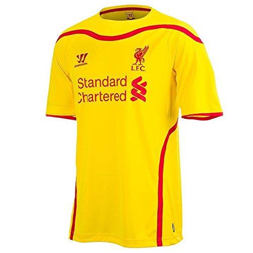 Warrior para hombre Liverpool Away camiseta de fútbol 2014 2015 manga corta cuello redondo, color
