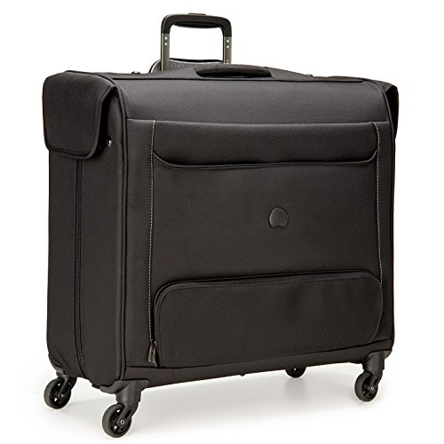 Delsey Luggage Chatillon Spinner Trolley Garment Bag, Black