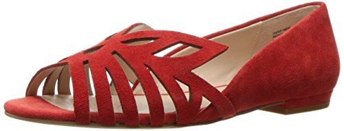 Ballet Seychelles Purrfect Women's Red Flat ESq0rBcq