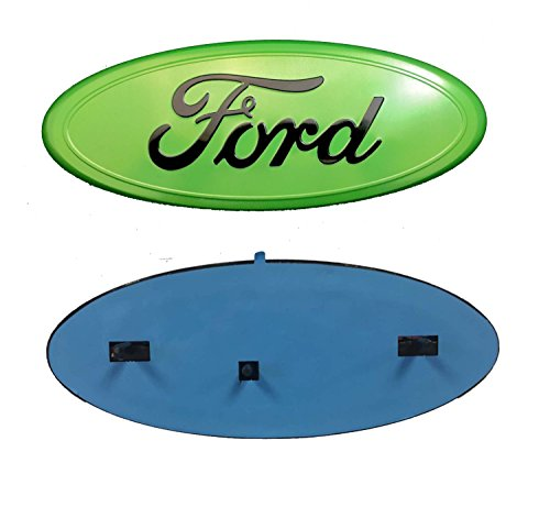 Lime Medallion (2005-2014 Ford F150 ELECTRIC LIME GREEN Oval 9