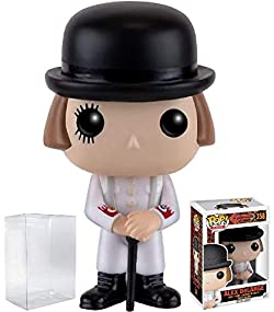Funko Pop! Movies: Clockwork Orange - Alex DeLarge Vinyl Figure (Bundled with Pop BOX PROTECTOR CASE)