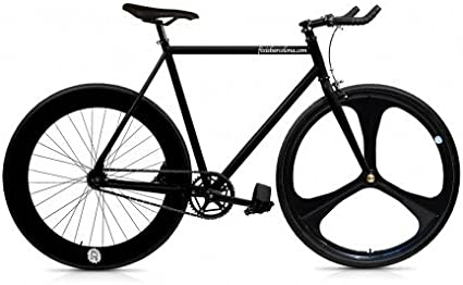 Mowheel Bicicleta Fix 3 Black. Monomarcha Fixie/Single Speed ...