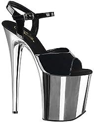 Pleaser Womens Flamingo 809 Ankle Straps Sandals