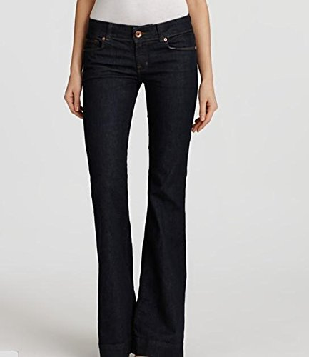 J brand Stretch Love Story Flare Jeans Pants In Pure Wash Size 31 by J Brand Jeans (Image #3)