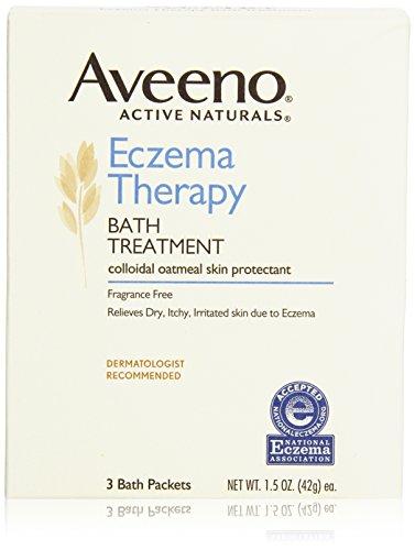 Bain de traitement Thérapie eczéma Aveeno, 3 Count (Pack de 2)