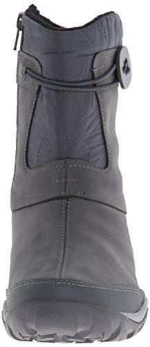 Merrell DEWBROOK ZIP WTPF - Botas de piel para mujer Grizzle Grey