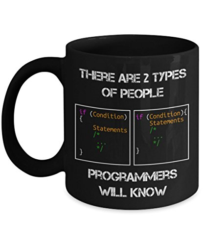 Programmer Coffee Mug - There Are 2 Types Of People Programmers Will Know -  Best Gifts cf6aa5e3ee10c