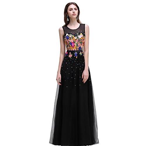 Bordados para vestidos de noche
