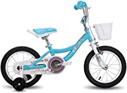 CYCMOTO Unicorn 12 14 16 inch Kids Bike for Boys & Girls with Training Wheels,18 inch with Kickstand Toddl