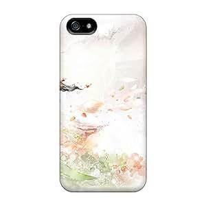 RachelMHudson Case Cover Protector Specially Made For Iphone 5/5s Garden Girl