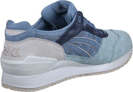Asics - Gel Respector Platinum Collection Taupe Grey - Sneakers Unisex Blue Beige 941wDXyJv