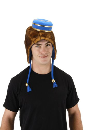 Deluxe Adult Finley Costumes (elope Disney's Oz the Great and Powerful Finley Deluxe Hoodie Hat)