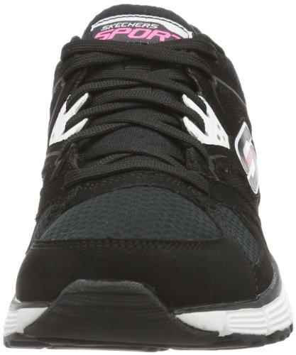 Skechers AgilityNew Vision 11694 - Zapatillas para mujer, color negro, talla 35 Negro (Schwarz (Bkw))
