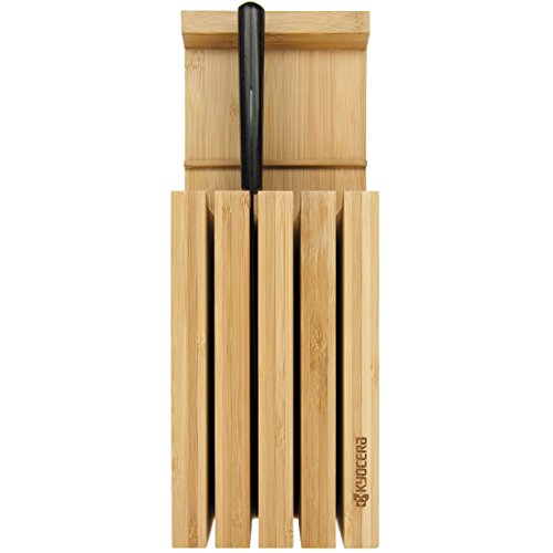 Kyocera KBLOCK3 Bamboo 3-Slot Knife Block
