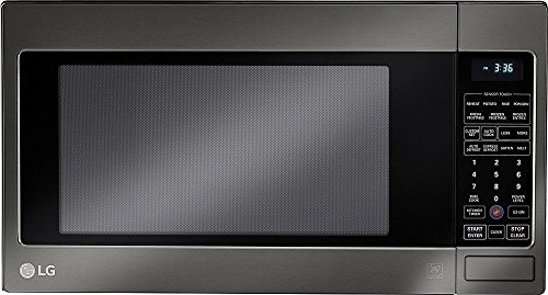 LCRT2010BD 24' 2 cu. ft. Capacity Countertop Microwave with 1200 in Black Stainless Steel (Certified...
