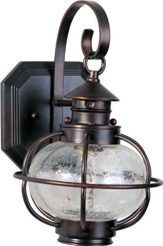 - Maxim Lighting 30502CDOI Portsmouth-Outdoor Wall Mount Portsmouth 1-Light Outdoor Wall Lantern